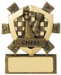Chess Mini Shield Trophy